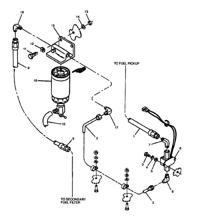 Figure 2 22 Fuel Filter Water Separator And Transfer Pump