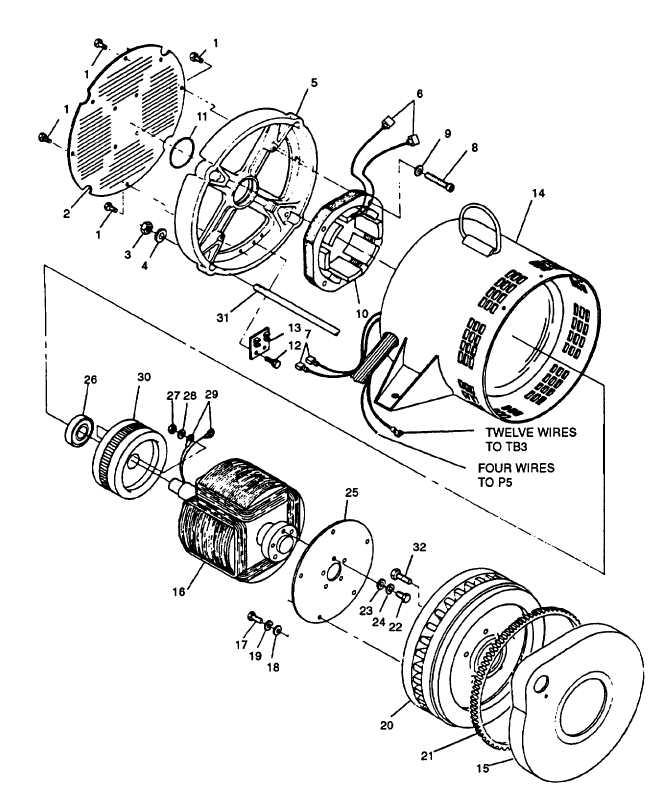 Mep 803a Generator Wiring Diagram