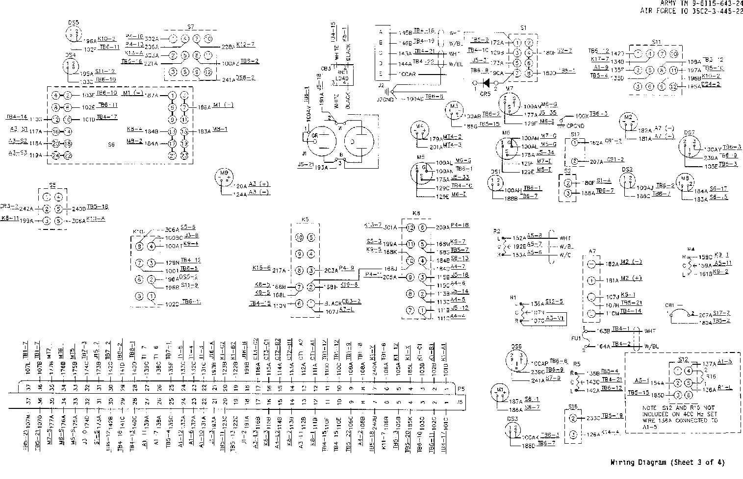Military Generators Wiring Diagram Diagrams 6 Volt Generator Mep 803a Dc Armature Winding 3 Phase