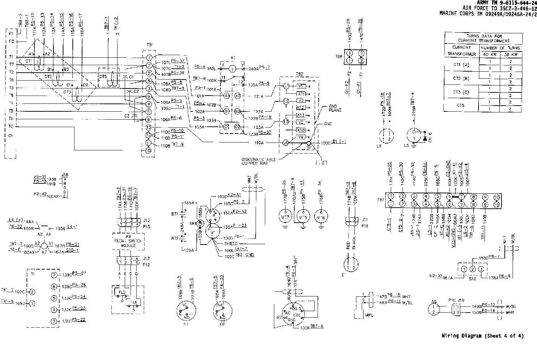 Fo2 Wiring    Diagram     sheet 4 of 4   TM9611564424 335