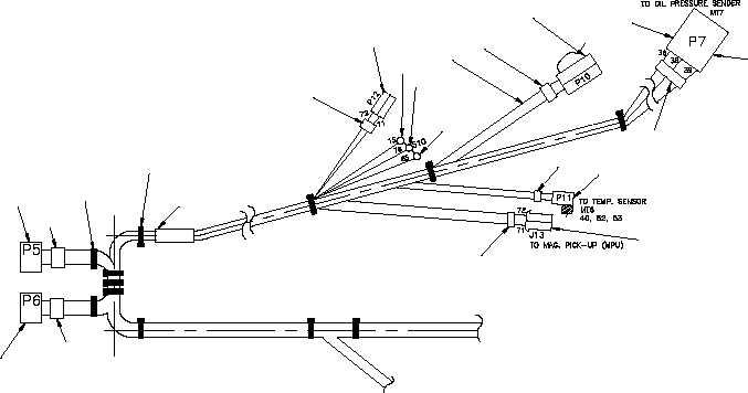 figure 15  output box wiring harness  sheet 1 of 3