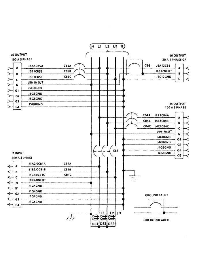 TM 9 6150 226 13_132_1 figure 4 1 m200 feeder center wiring diagram (sheet 2 of 2) load center wiring diagram at virtualis.co