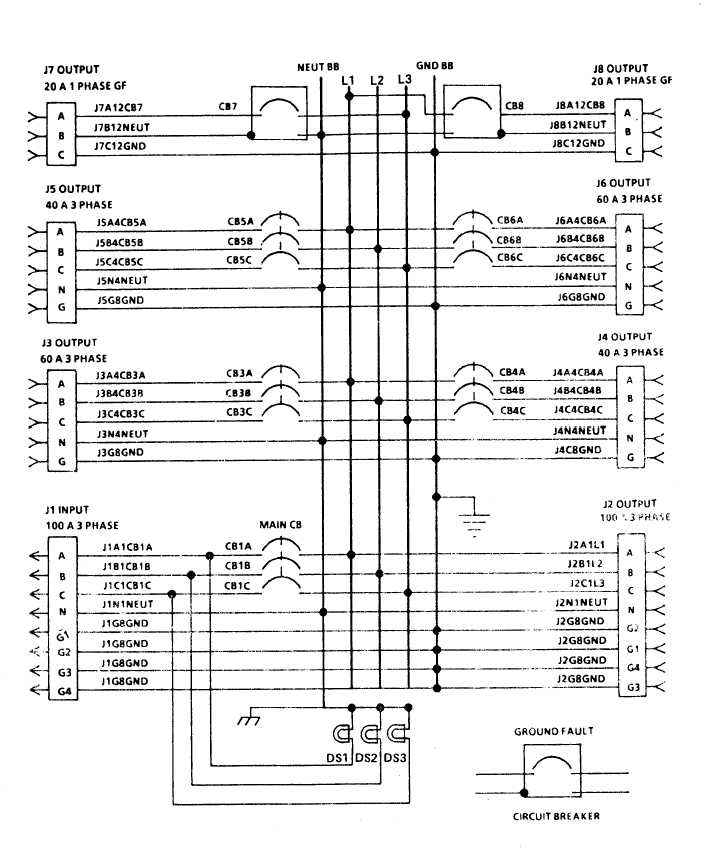 TM 9 6150 226 13_133_1 figure 4 2 m100 feeder center wiring diagram load center wiring diagram at alyssarenee.co